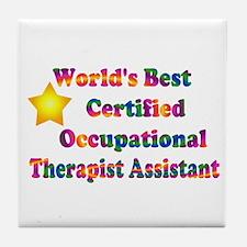 World's Best COTA Tile Coaster
