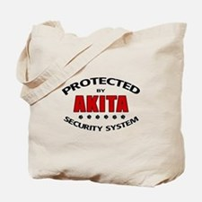 Akita Security Tote Bag