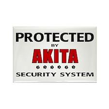 Akita Security Rectangle Magnet