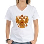 Strk3 Russian 18th Women's V-Neck T-Shirt