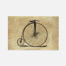 Vintage Penny Farthing Bicycle Magnets