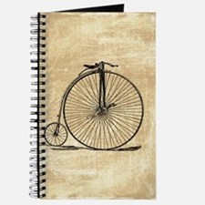 Vintage Penny Farthing Bicycle Journal