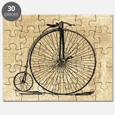 Vintage Penny Farthing Bicycle Puzzle