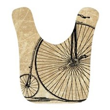 Vintage Penny Farthing Bicycle Bib