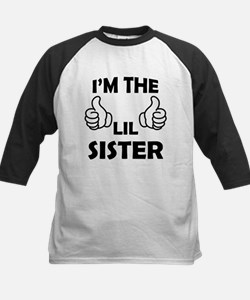 I am the Lil Sister Baseball Jersey