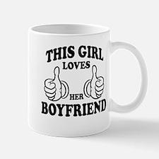 This Girl Loves Her Boyfriend Mugs