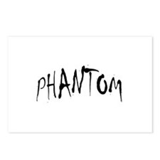 Phantom Halloween Postcards (Package of 8)