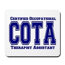 Blue Collegiate COTA Mousepad