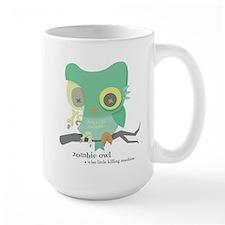 zombie owl Mugs