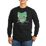 zombie owl Long Sleeve T-Shirt