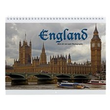 Images Of England Wall Calendar