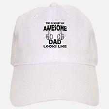 Awesome Dad Looks Like Baseball Baseball Baseball Cap