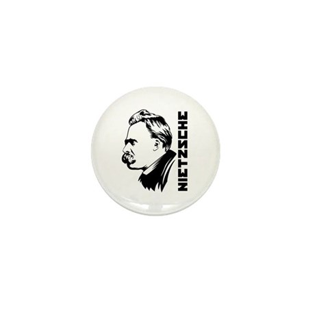 Strk3 Nietzsche Mini Button
