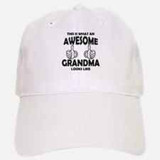 Awesome Grandma Looks Like Baseball Baseball Baseball Cap