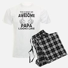 Awesome Papa Looks Like Pajamas