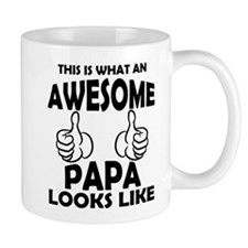 Awesome Papa Looks Like Mugs