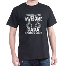 Awesome Papa Looks Like T-Shirt