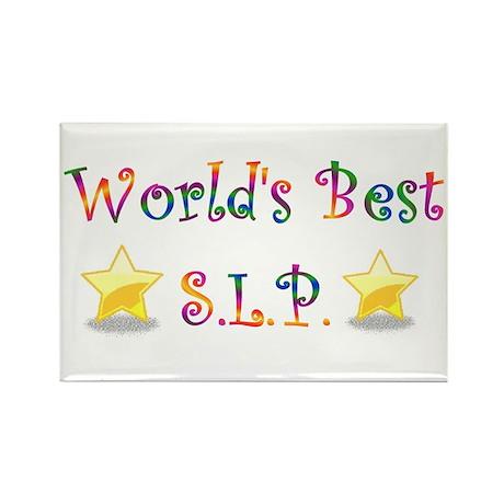 Worlds Best SLP Rectangle Magnet