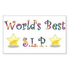 Worlds Best SLP Rectangle Decal