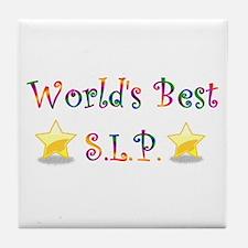 Worlds Best SLP Tile Coaster