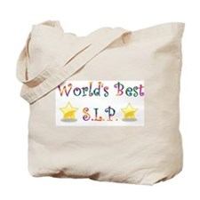 Worlds Best SLP Tote Bag
