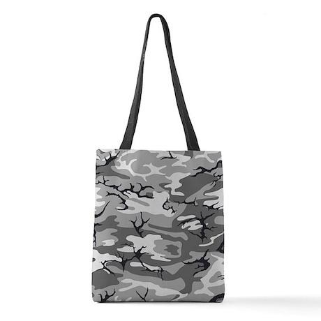 Urban Camo Polyester Tote Bag