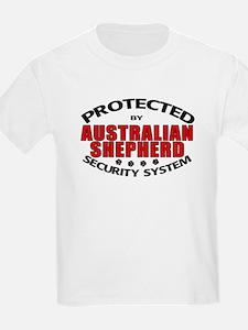 Australian Shepherd Security T-Shirt