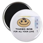 THANKS MOM FOR ALL YOUR LOVE Magnet