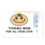 THANKS MOM FOR ALL YOUR LOVE   Postcards (Package