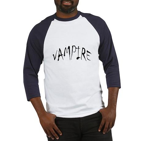 Vampire Halloween Baseball Jersey