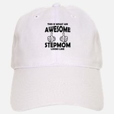 Awesome StepMom Looks Like Baseball Baseball Baseball Cap