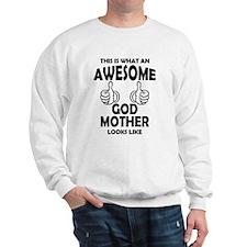 Awesome Godmother Looks Like Sweatshirt