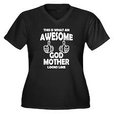 Awesome Godmother Looks Like Plus Size T-Shirt