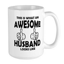 Awesome Husband Looks Like Mugs