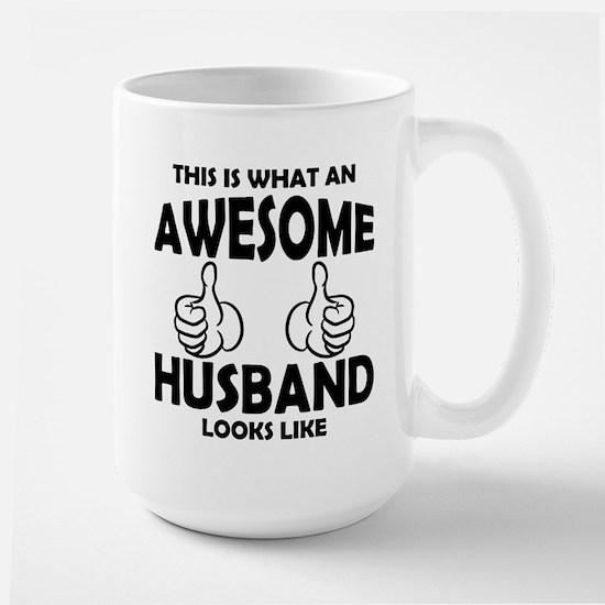 Awesome Husband Looks Like Mugs