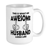 Husband Large Mugs (15 oz)