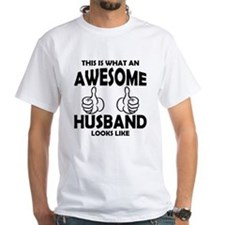 Awesome Husband Looks Like T-Shirt
