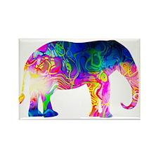 Cool spaghetti Elephant Magnets