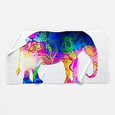 Cool spaghetti Elephant Beach Towel