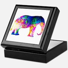 Cool spaghetti Elephant Keepsake Box