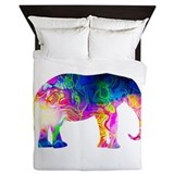 Cool spaghetti elephant Queen Duvet Covers