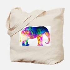 Cool spaghetti Elephant Tote Bag