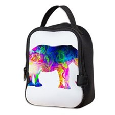 Cool spaghetti Elephant Neoprene Lunch Bag