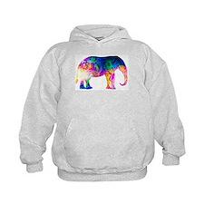 Cool spaghetti Elephant Hoodie