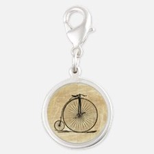 Vintage Penny Farthing Bicycle Charms