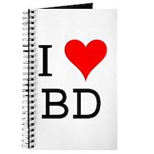 I Love BD Journal