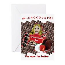 Ah...Chocolate! Greeting Cards (Pk of 10)