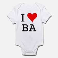 I Love BA Infant Bodysuit