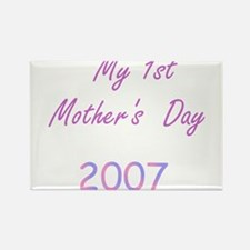 My 1st Mother's Day Rectangle Magnet (10 pack)