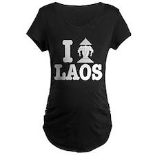 I Erawan (Love) Laos Maternity T-Shirt